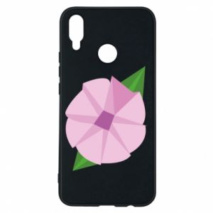 Phone case for Huawei P Smart Plus Gentle flower abstraction - PrintSalon