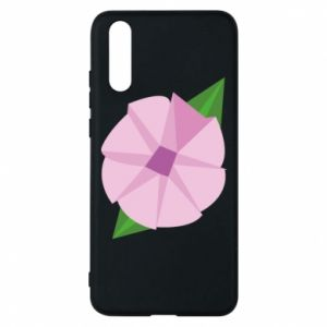 Phone case for Huawei P20 Gentle flower abstraction - PrintSalon