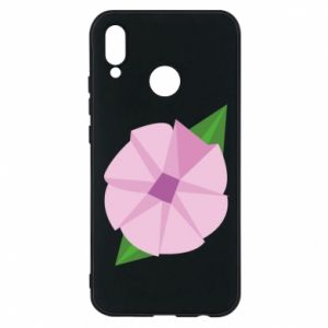 Phone case for Huawei P20 Lite Gentle flower abstraction - PrintSalon