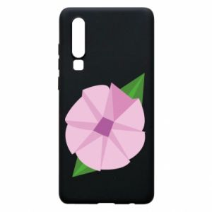 Phone case for Huawei P30 Gentle flower abstraction - PrintSalon