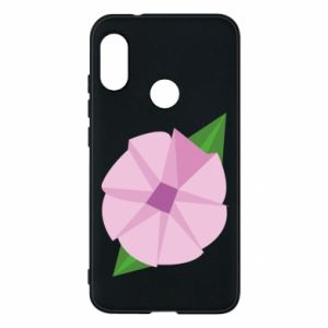 Phone case for Mi A2 Lite Gentle flower abstraction - PrintSalon
