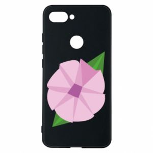 Phone case for Xiaomi Mi8 Lite Gentle flower abstraction - PrintSalon