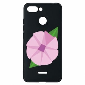Phone case for Xiaomi Redmi 6 Gentle flower abstraction - PrintSalon
