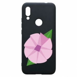 Phone case for Xiaomi Redmi 7 Gentle flower abstraction - PrintSalon