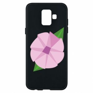 Phone case for Samsung A6 2018 Gentle flower abstraction - PrintSalon