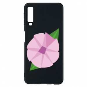 Phone case for Samsung A7 2018 Gentle flower abstraction - PrintSalon