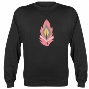 Bluza (raglan) Gentle pink feather