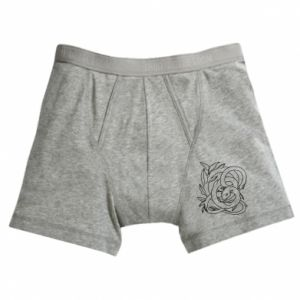 Boxer trunks Gentle snake contour