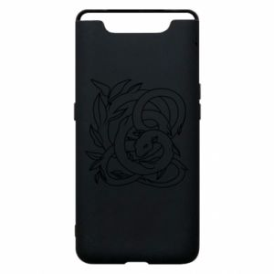 Phone case for Samsung A80 Gentle snake contour