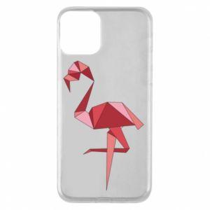 Etui na iPhone 11 Geometria Flamingo