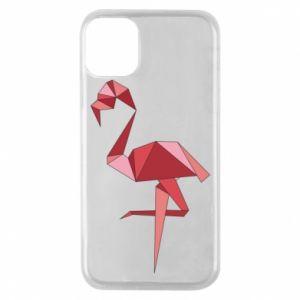 Etui na iPhone 11 Pro Geometria Flamingo