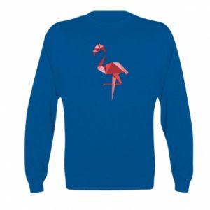 Bluza dziecięca Geometria Flamingo