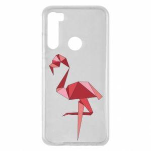 Etui na Xiaomi Redmi Note 8 Geometria Flamingo