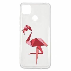 Etui na Xiaomi Redmi 9c Geometria Flamingo