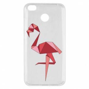 Etui na Xiaomi Redmi 4X Geometria Flamingo