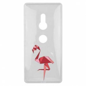 Etui na Sony Xperia XZ2 Geometria Flamingo