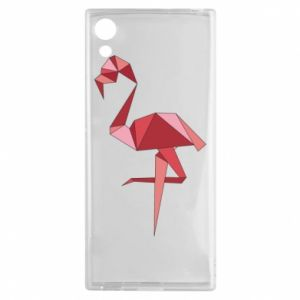 Etui na Sony Xperia XA1 Geometria Flamingo