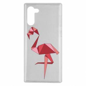 Etui na Samsung Note 10 Geometria Flamingo