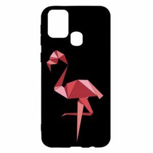 Etui na Samsung M31 Geometria Flamingo