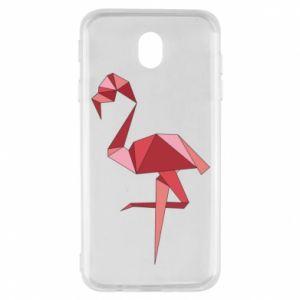 Etui na Samsung J7 2017 Geometria Flamingo