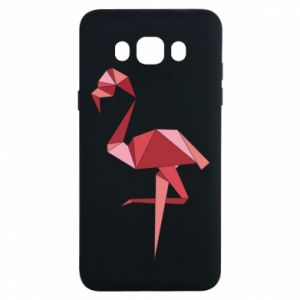 Etui na Samsung J7 2016 Geometria Flamingo