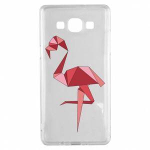 Etui na Samsung A5 2015 Geometria Flamingo