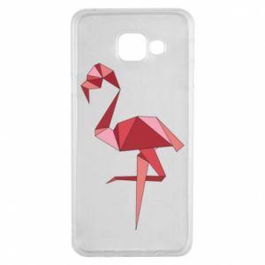Etui na Samsung A3 2016 Geometria Flamingo