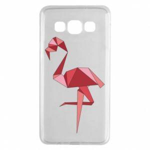 Etui na Samsung A3 2015 Geometria Flamingo