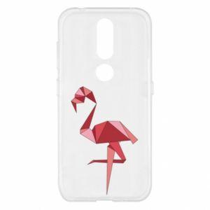 Etui na Nokia 4.2 Geometria Flamingo
