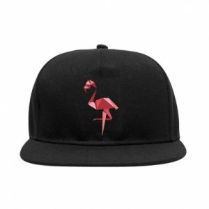Snapback Geometria Flamingo