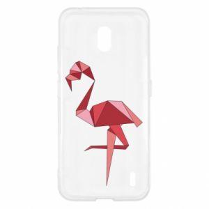 Etui na Nokia 2.2 Geometria Flamingo