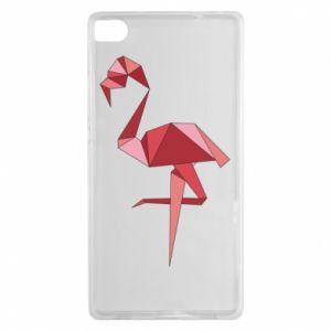 Etui na Huawei P8 Geometria Flamingo