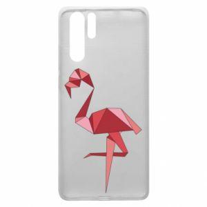 Etui na Huawei P30 Pro Geometria Flamingo