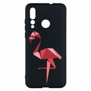 Etui na Huawei Nova 4 Geometria Flamingo