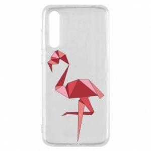 Etui na Huawei P20 Pro Geometria Flamingo