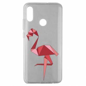 Etui na Huawei Honor 10 Lite Geometria Flamingo