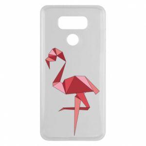Etui na LG G6 Geometria Flamingo