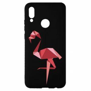 Etui na Huawei P Smart 2019 Geometria Flamingo