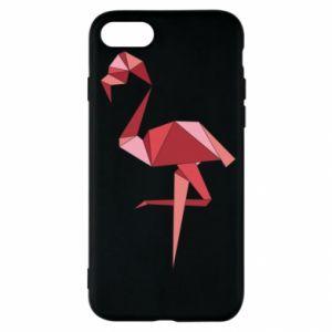 Etui na iPhone SE 2020 Geometria Flamingo