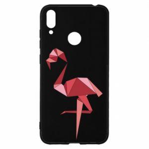 Etui na Huawei Y7 2019 Geometria Flamingo