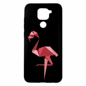 Etui na Xiaomi Redmi Note 9/Redmi 10X Geometria Flamingo
