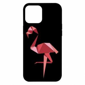 Etui na iPhone 12 Pro Max Geometria Flamingo
