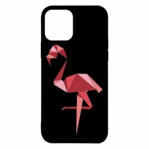 Etui na iPhone 12/12 Pro Geometria Flamingo
