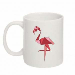 Kubek 330ml Geometria Flamingo