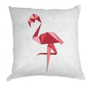 Poduszka Geometria Flamingo
