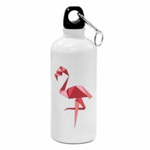 Bidon turystyczny Geometria Flamingo