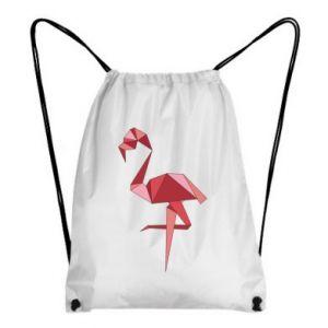 Plecak-worek Geometria Flamingo
