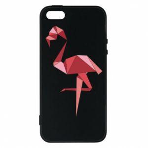 Etui na iPhone 5/5S/SE Geometria Flamingo