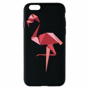 Etui na iPhone 6/6S Geometria Flamingo