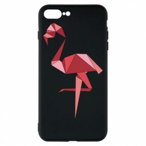 Etui na iPhone 8 Plus Geometria Flamingo